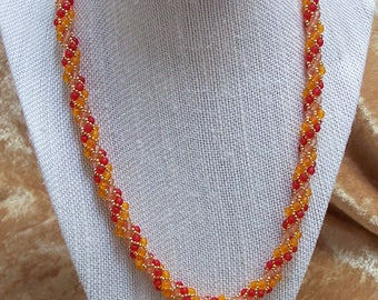 Autumn Twist Necklace