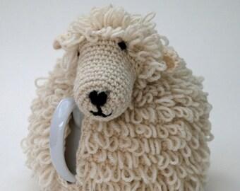 Sheep Tea Cosy Crochet Kit