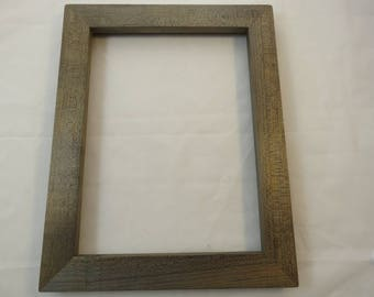 9x12 Weathered Quartersawn Maple Picture Frame