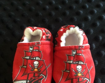 Tampa Bay Buccaneers Crib Shoes / Slippers