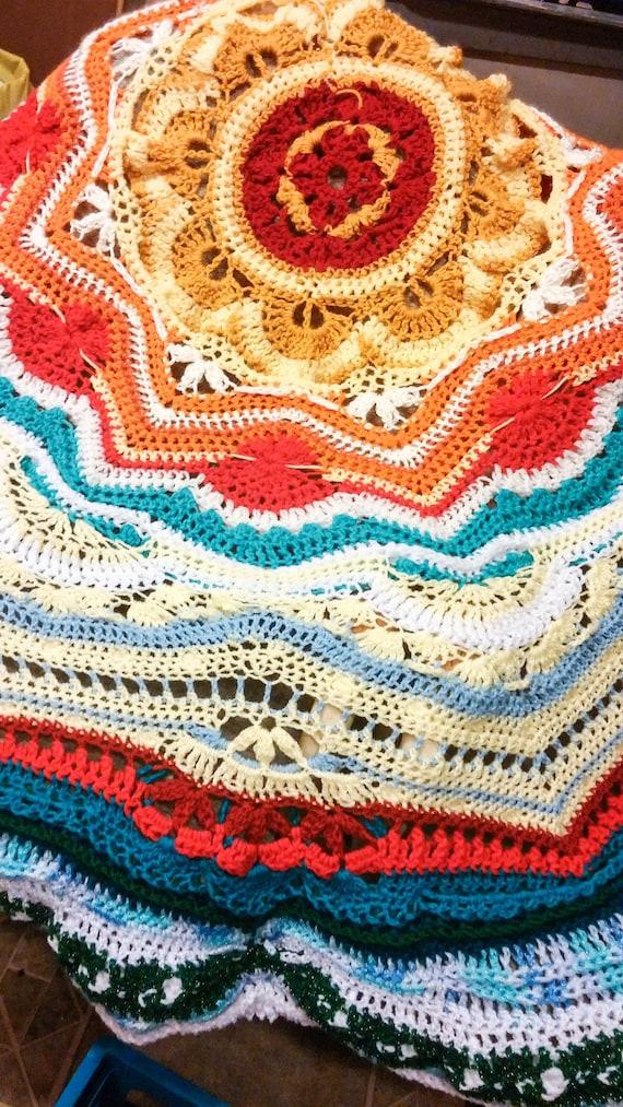 Mandala Decke Wandteppich Strandmatte werfen Handtuch Yoga
