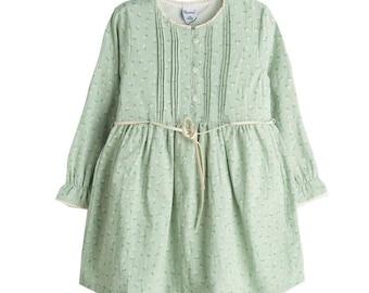 Dress, Girls dress, Toddler dress Half-length Dress, Shabby Chic Dress, Shabby Chic Fashion, Vintage Dress, Romantic Dress, Peasant Dress