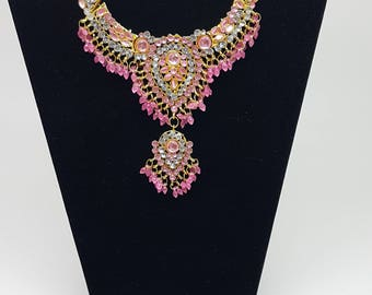 Collana donna india, Indian Necklace, bollywood