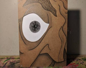 Cardboard Art / Wall Art - Eye See You