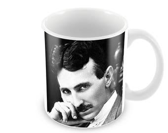Nikola Tesla  Ceramic Coffee Mug    Free Personalisation