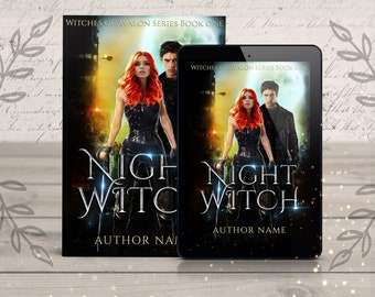 Urban Fantasy Premade eBook Cover- paranormal fantasy, urban fantasy, cover design, teen books, ya, fantasy book cover, cover designer