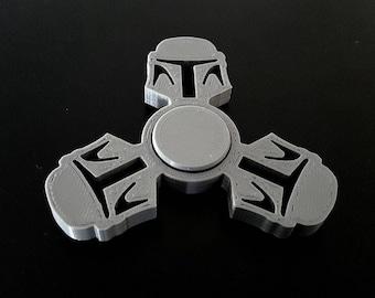 Custom Star Wars Boba Fett Fidget Spinner - EDC Desk Toy - Focus Tool JEDI