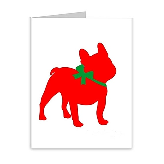 French bulldog seasons greetings note cards french like this item m4hsunfo