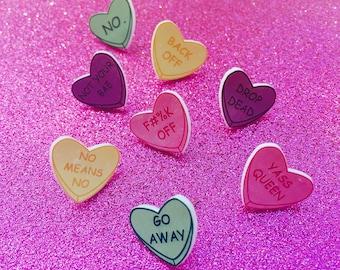 Not Your Sweetheart Earrings