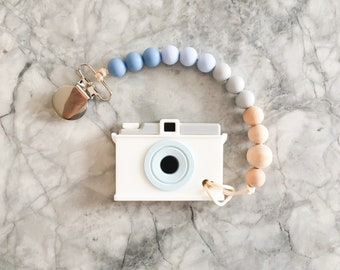 Camera Silicone Teether