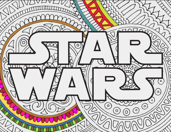 star wars coloring pages star wars logo printable adult coloring pages star wars coloring book coloring sheet star wars gifts coloring - Coloring Pages Star Wars