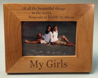 My Girls Frame,
