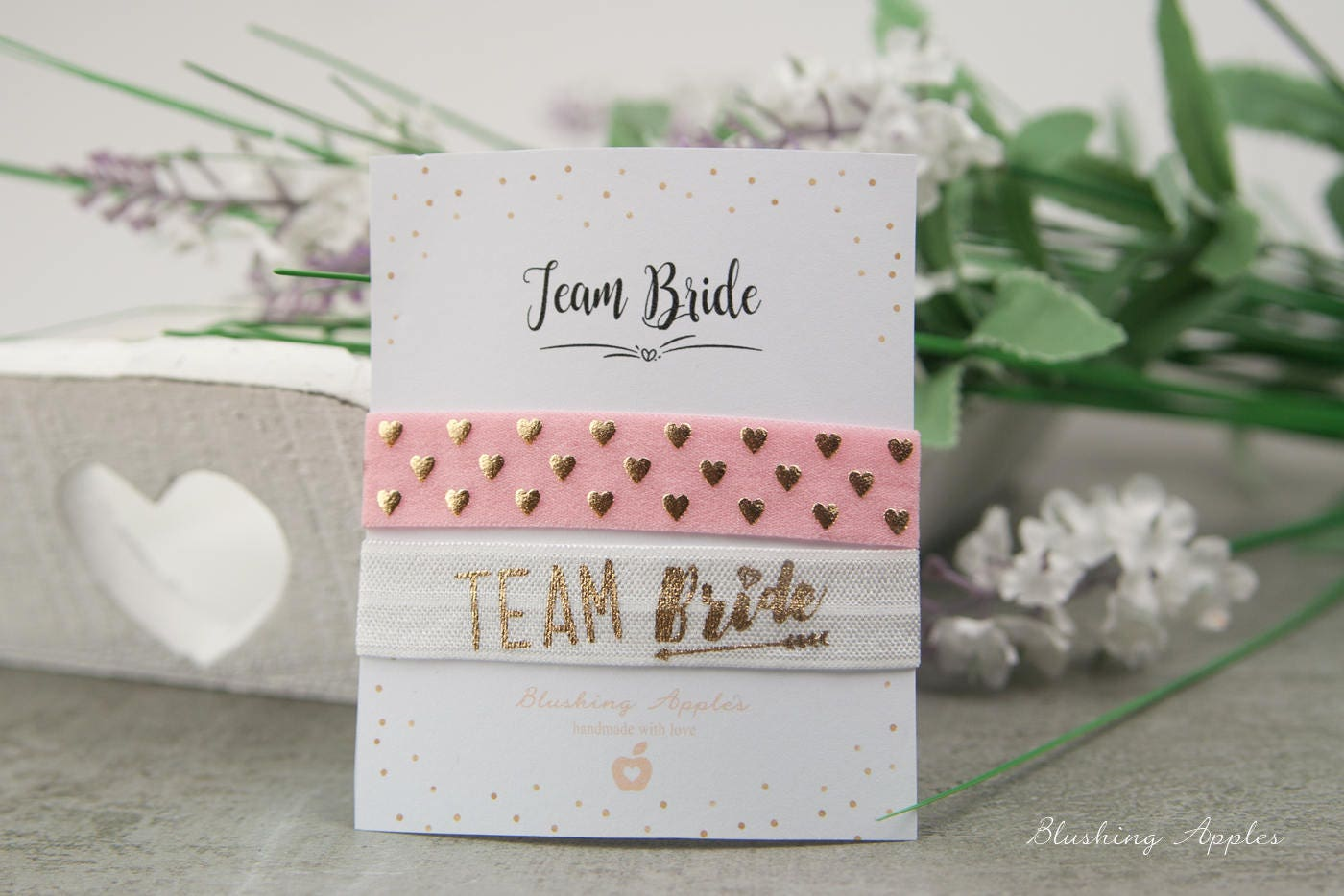 Armband Set Team Bride / Hochzeit JGA Team Braut
