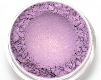 """Lilac with Peach Pink Duochrome Eyeshadow - """"Rapunzel"""" - Vegan Mineral Makeup"""