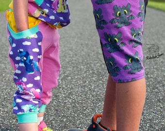 Jammin' Joggers by ASB sizes Preemie -14 with 4 length options and 3 waistband styles!