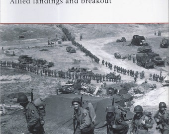 Normandy 1944: Allied landings and breakout by Stephen Badsey (Osprey-Campaign)  (Paperback)