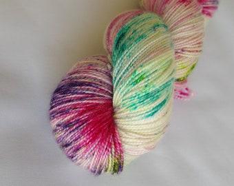 Luxury Hand Dyed High Twist Sock Yarn