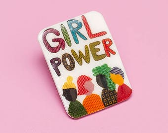 GIRL POWER PIN for Planned Parenthood