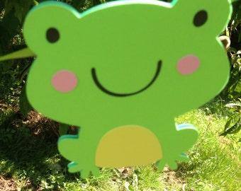 Frog Birthday Banner