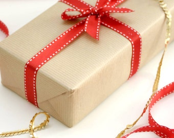 Gift Wrap Kraft Brown Wrapping Paper for Presents, Crafting and Scrapbooking