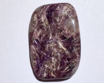 Top Quality 3.6g Freeform Polished Chatoyant Charoite Crystal Stone - Siberia, Russia - Item:CH17050