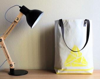 Canvas tote bag/ Canvas bag/ Tote bag canvas/ Tote bag/ Tote/ Shoulder bag/ Shopping bag/ Gift for her/ Gift for mom/ Leather strap/ handbag