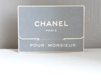 """CHANEL """"pour monsieur"""" - Petit nécessaire/coffret de voyage -  vintage - années 50/56"""