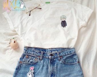 Pocket BTS Mint Yoongi T-Shirt (Design by Yeooongi)