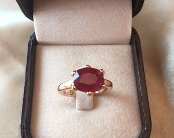 vintage Natural ruby Ring