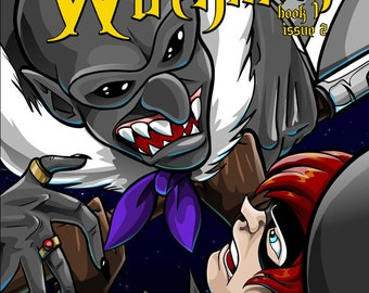 Graphic Novel - Witchman Book 1 Issue 2