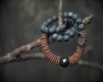 Artisan ceramic necklace , excluzive jewelery