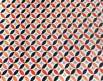 Laminated cotton fabric 50 x 70 cm graphic