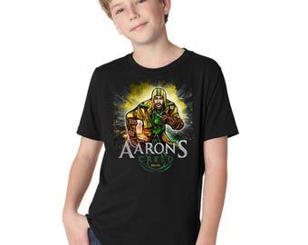 Youth Boys Short Sleeve Aaron's Creed T-Shirt