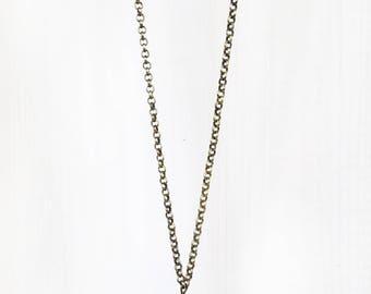 FACETED BLACK ONYX || gemstone pendant necklace