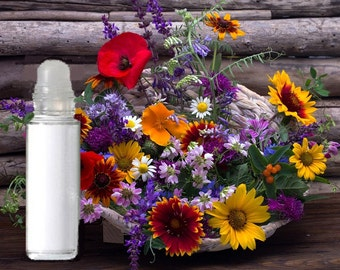 Organic Custom MAKE YOURS PERFUME! Roll On Create Personalized, Pick 3 Essential or Fragrance Oils! Signature Parfum  (Glass) 10 ml Cologne.
