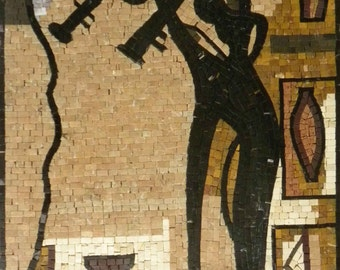 Modern Art  Mosaic Mural
