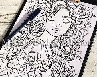 Dream | Mariola Budek - Coloring Page
