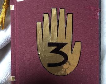 "Gravity Falls 3, Sketchbook mini, Journal, Sketchbook, Blanco very good Paper ""I love art"", 120 Sheets, Replica"