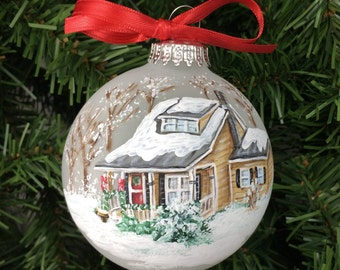 Custom House Ornament
