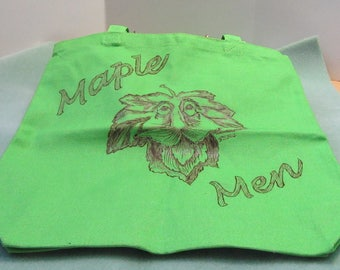 Canvas 'Maple Men' Tote Bag