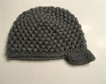 Heather Grey Sporty Women's Beanie Hat