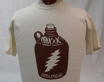 Mens Grateful Dead shirt. Grateful Dead Shirt. Minglewood Blues.