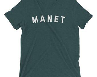 EDOUARD MANET Shirt, Manet Shirt, Edouard Manet, Manet, Manet Painting, Artist Gift, Artist Shirt, Gift for Artist, Art Shirt, Claude Monet