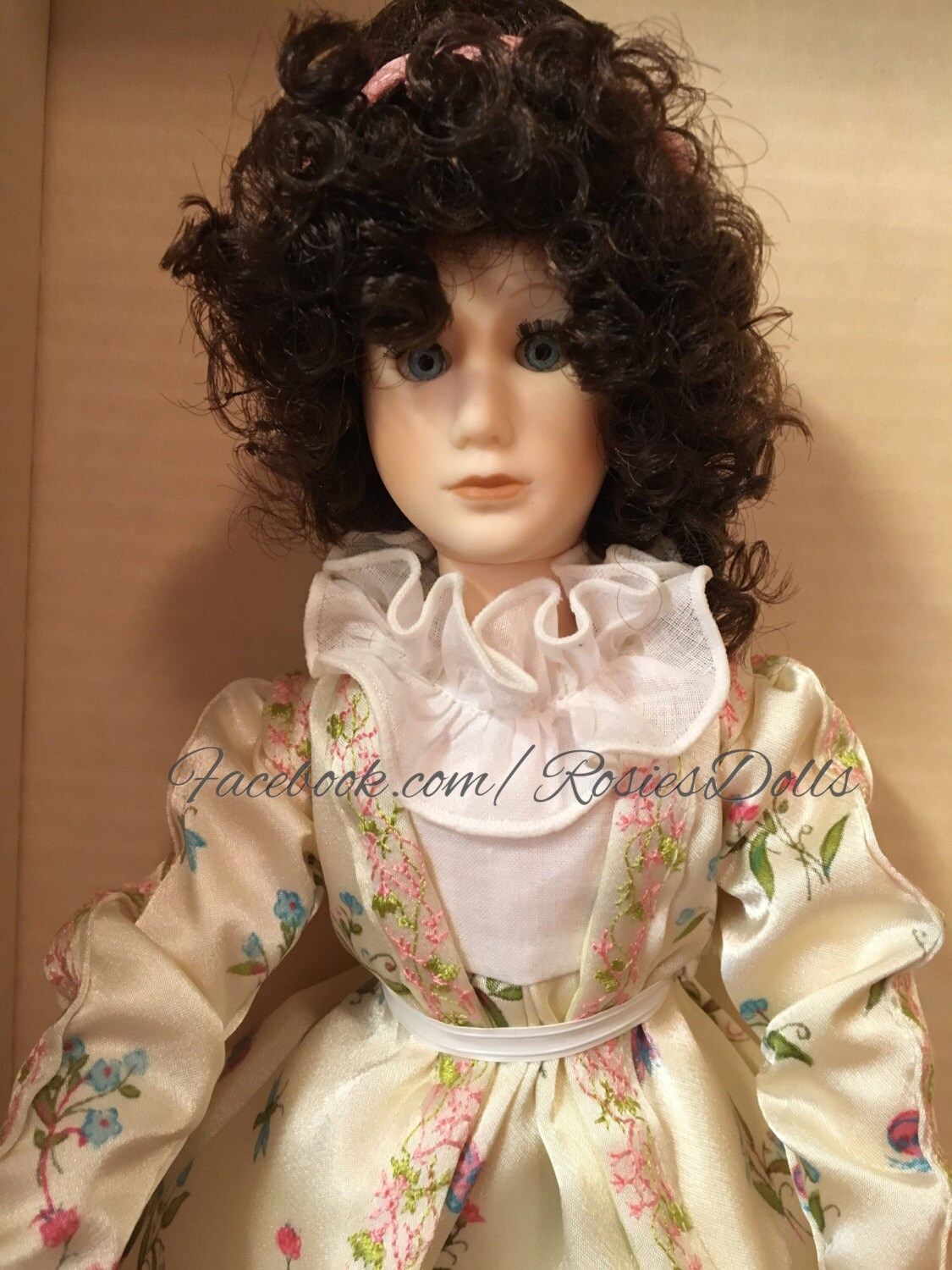 Vintage First Ladies Dolley Payne Todd Madison Doll By Suzanne