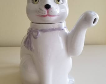 Pretty Kitty Teapot