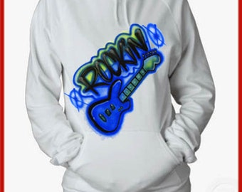 Custom Airbrush Kids HOODED SWEATSHIRTS