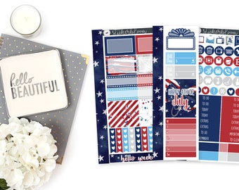 July Fourth PERSONAL ||  Weekly Kit
