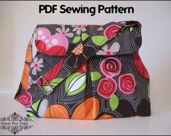 Hobo Bag PDF Sewing Pattern / Sweet Pea Totes