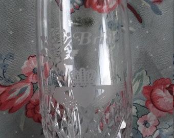 Galway Irish Crystal Bride Wedding Goblet