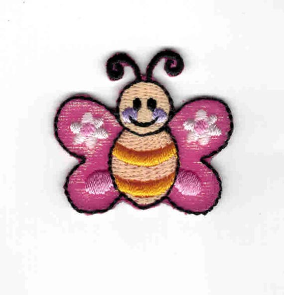 "Patch fusible trend pattern ""Butterfly"""